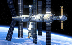 Special development of a calorimeter for the International Space Station